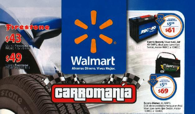 CATALOGO walmart carromani octubre 2014