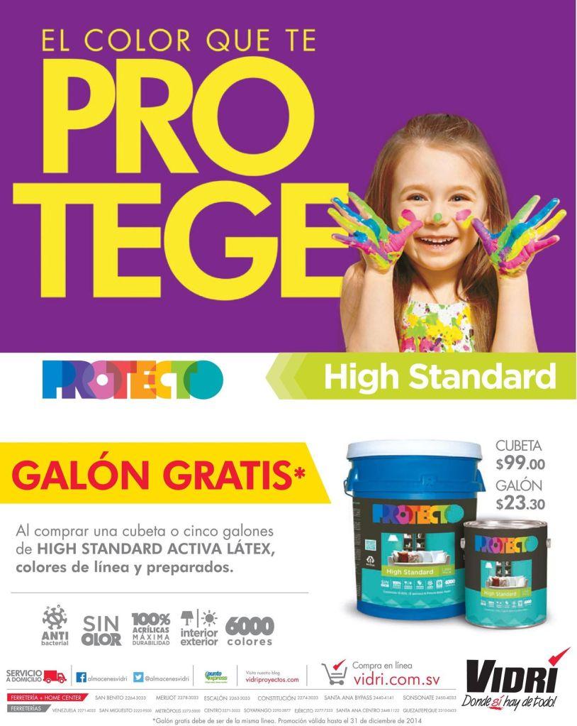 COLORES high standard PROTECTO ferreteria VIDRI - 22oct14