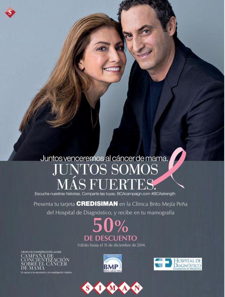 CREDISIMAN Descuentos en prueba contra el cancer de mama