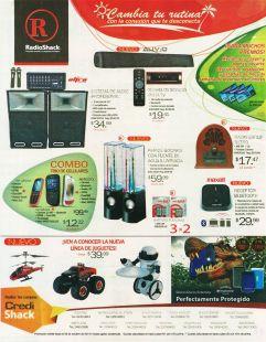 Change new thecnology RADIOSHACK ofertas y variedad - 17oct14