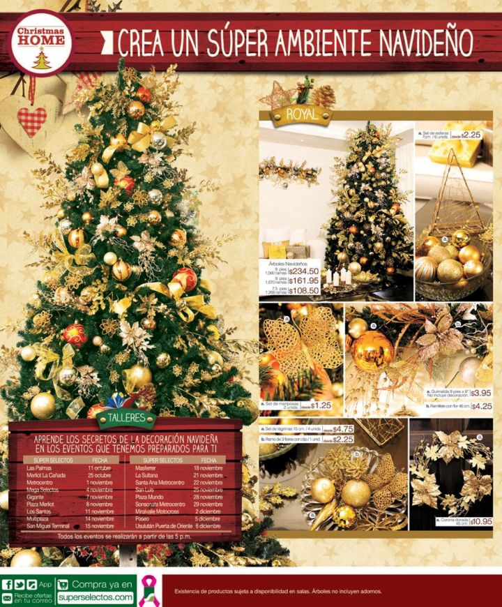 Christmas HOME decoring SUPER SELECTOS promotions - 11oct14