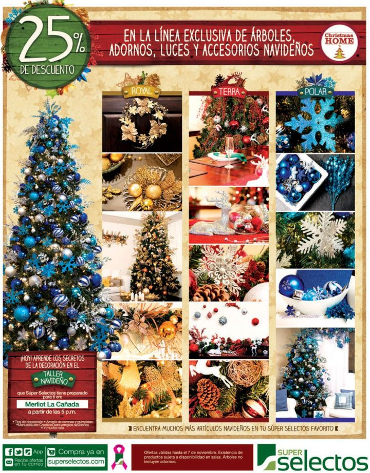 Christmas home discounts decora tu casa - 25oct14