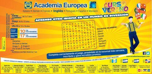 Cursos de verano apreder nuevos idiomas - 20oct14