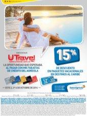Destinos turistico en el caribe con descuento U TRAVEL - 02oct14
