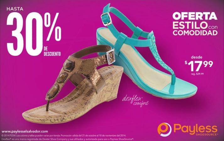 sandals Dex FLEX comfort shoes ladies OFFER payless shoe source - 30oct14