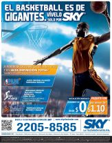 ENJOY basketball via TV satelital streaming high definition - 13oct14