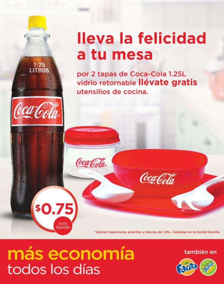 Equipa tu cocina con COCA COLA promociones - 29oct14
