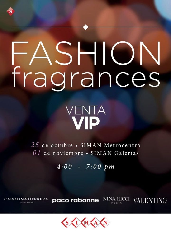 FASHION fragances VIP sale by SIMAN