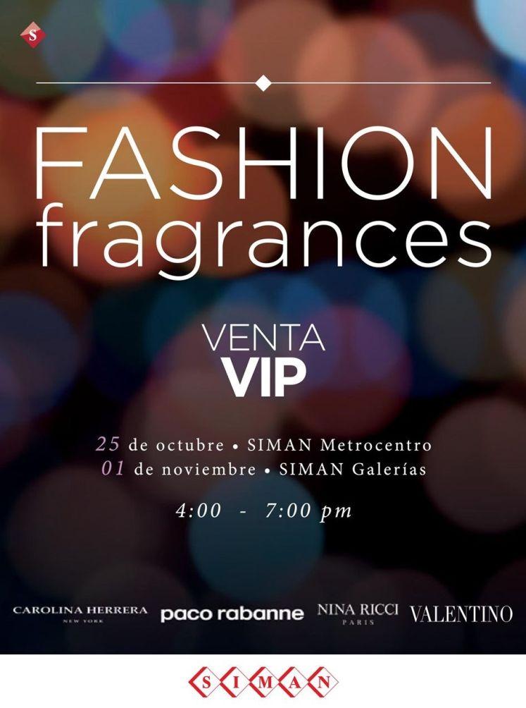 FASHION fragances VIP sale by SIMAN