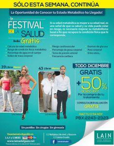 Festival de la salud COMO PUEDO ADELGAZAR con lain - 20oct14