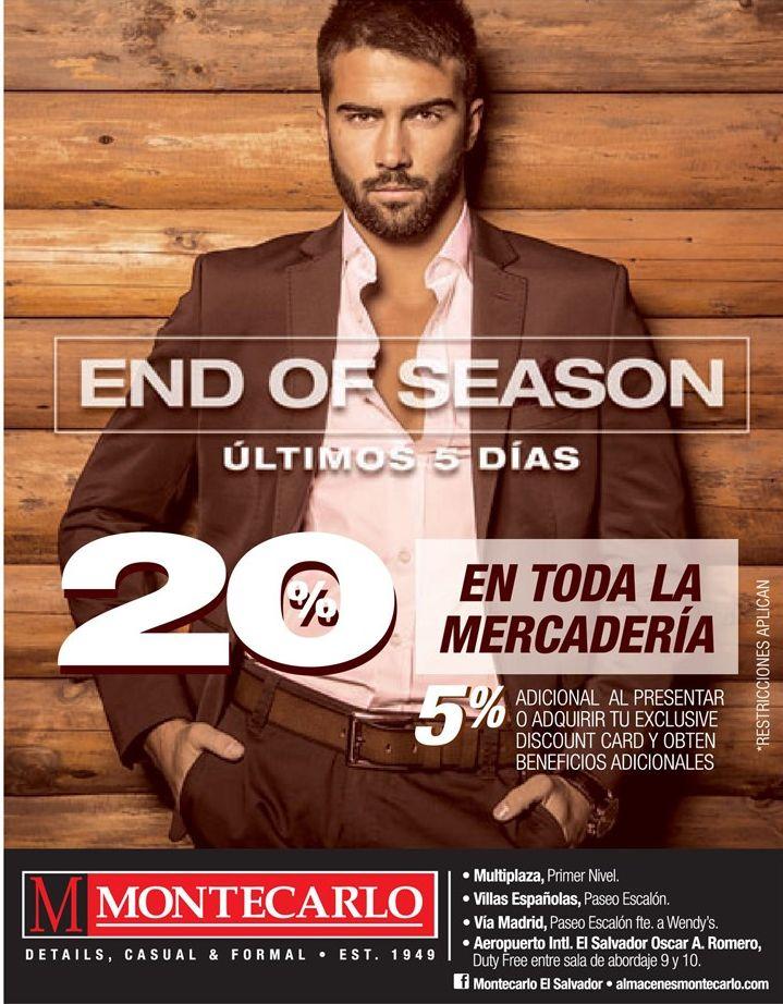 GENTLEMAN discount end of season MONTECARLO - 16oct14