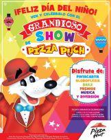 GRANDIOSO show para los niños en PIZZA HUT - 03oct14