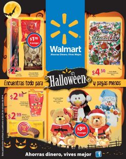 HALLOWEEN friday promociones WALMART el salvador - 31oct14