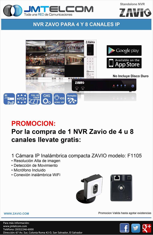 JM TELCOM soluciones en video vigilancia ZAVIO thecnology