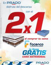 La cama de tus sueños al 2x1 promociones PRADO - 10oct14
