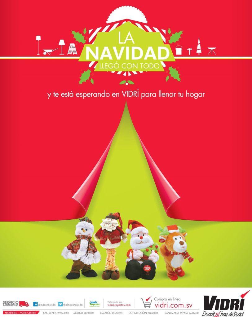 La navidad llego a VIDRI ferreteria - 11oct14