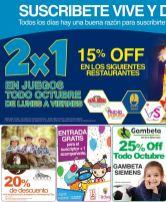 Los niños disfrutas de las ofertas diarias - 04oct14
