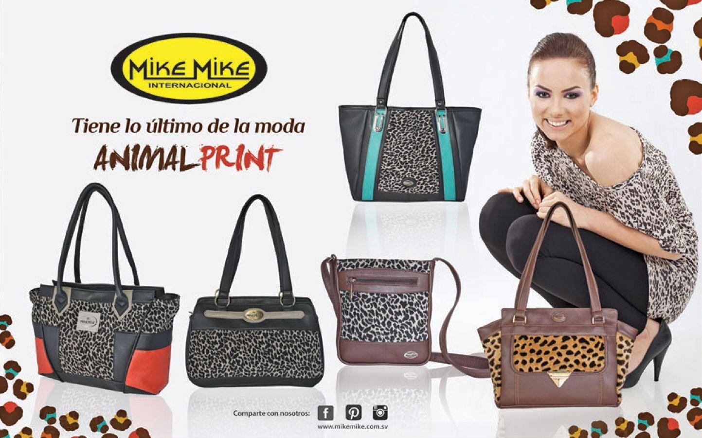 Mike mike international lo ultimo en la moda animal print - Lo ultimo en moda ...