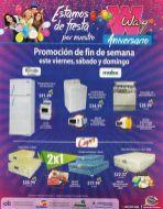 Ofertas AGENCIAS WAY de fiesta de aniversario - 17oct14