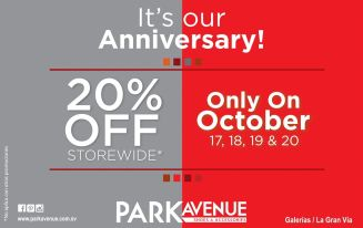 Ofertas LA GRAN VIA park avenue OFF store wide - 17oct14