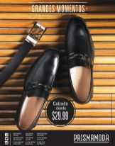 Ofertas Prisma Moda calzado de caballeros - 15oct14