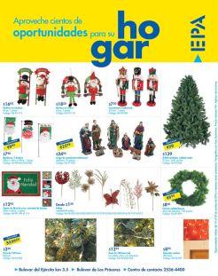 Ofertas en articulos de navidad EPA el salvador - 10oct14
