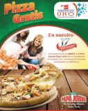 PIZZA GRATIS por tus compras en farmacias UNO - 31oct14