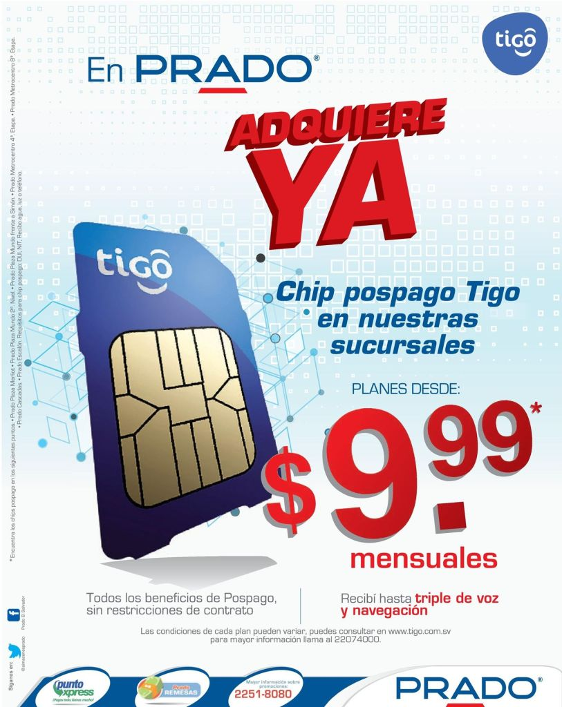 PRADO oferta chip TIGO - 17oct14