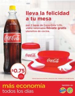 Promociones COCA COLA llenas de felicidad - 15oct14