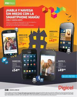 Promociones DIGICEL smartphones bajo costo - 13oct14