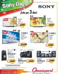Promociones SONY DAYS by omnisport el salvador - 31oct14