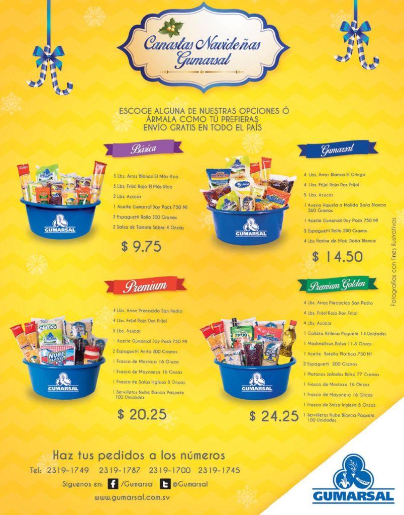 Promociones canatas naideñas GUMARSAL distribucion - 24oct14