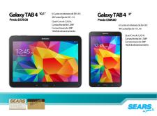 SEARS comprar GALAXY tab 2 con cuotas sin intereses