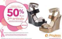 Segundo articulo mitad de precio en PAYLESS calzado de damas - 10oct14