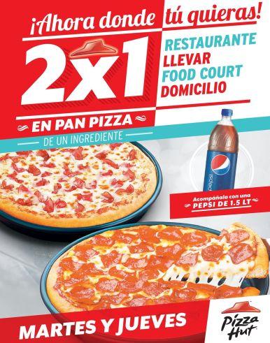 TODOS los martes es mejor comer pizza al 2x1 - 07oct14