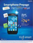 Tigo promociones en smartphone ALCATEL POP C3 - 10oct14