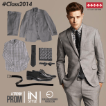 Trendy prom style fashion CLASS 2014 by SIMAN