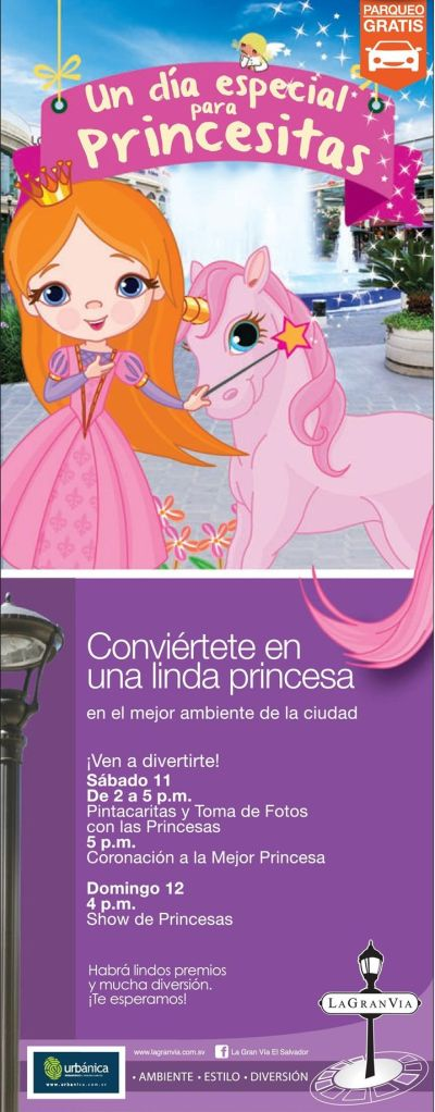 Un dia especial para las princesitas en LA GRAN VIA - 11oct14