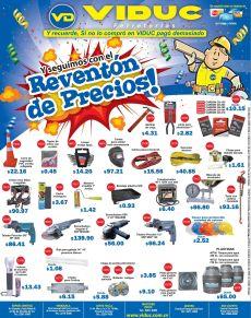 VIDUC promociones reventon de precios - 27oct14