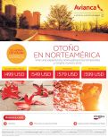 Viajar a norteamerica en otoño PROMOTION avianca.com - 16oct14