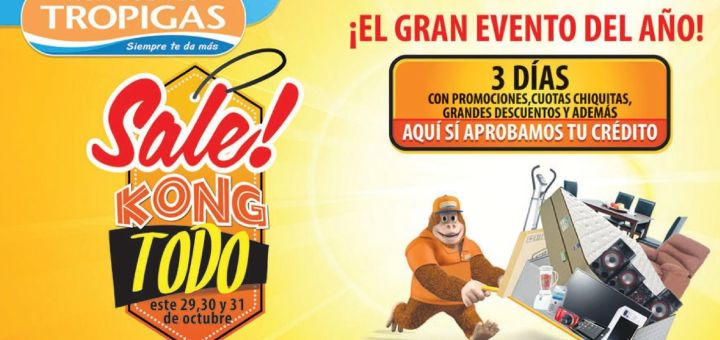 amazing SALE tropigas el salvador - 29oct14