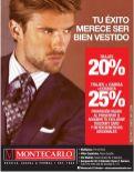 caballeros bien vestidos MONTECARLO descuentos - 22oct14