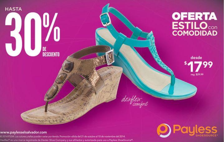 calzado con estilo calidad y oferta payless - 24oct14
