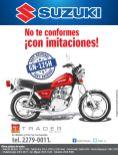 como comprar una excelente motocicleta SUZUKI - 27oct14