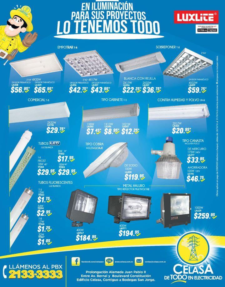 iluminacion de exteriores Ferreteria CELASA - 20oct14