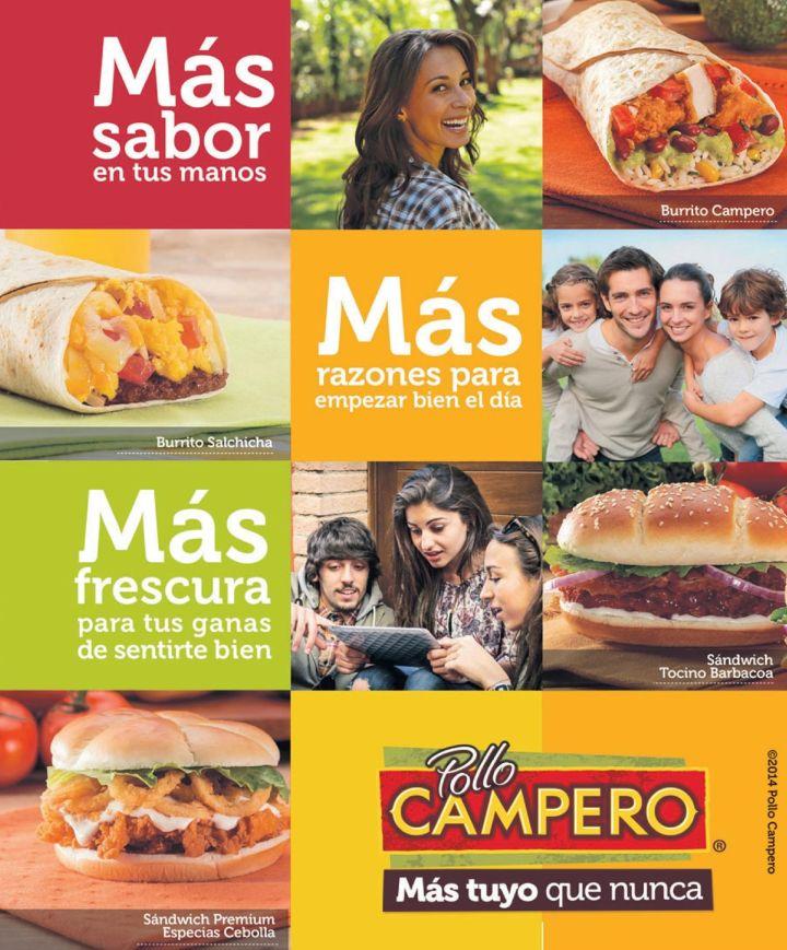 menu online pollo campero app el salvador