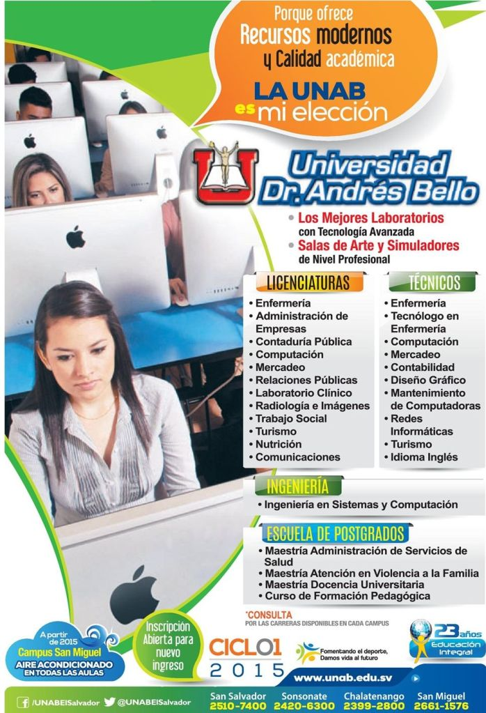 new apple computer resources Universidad andres bello
