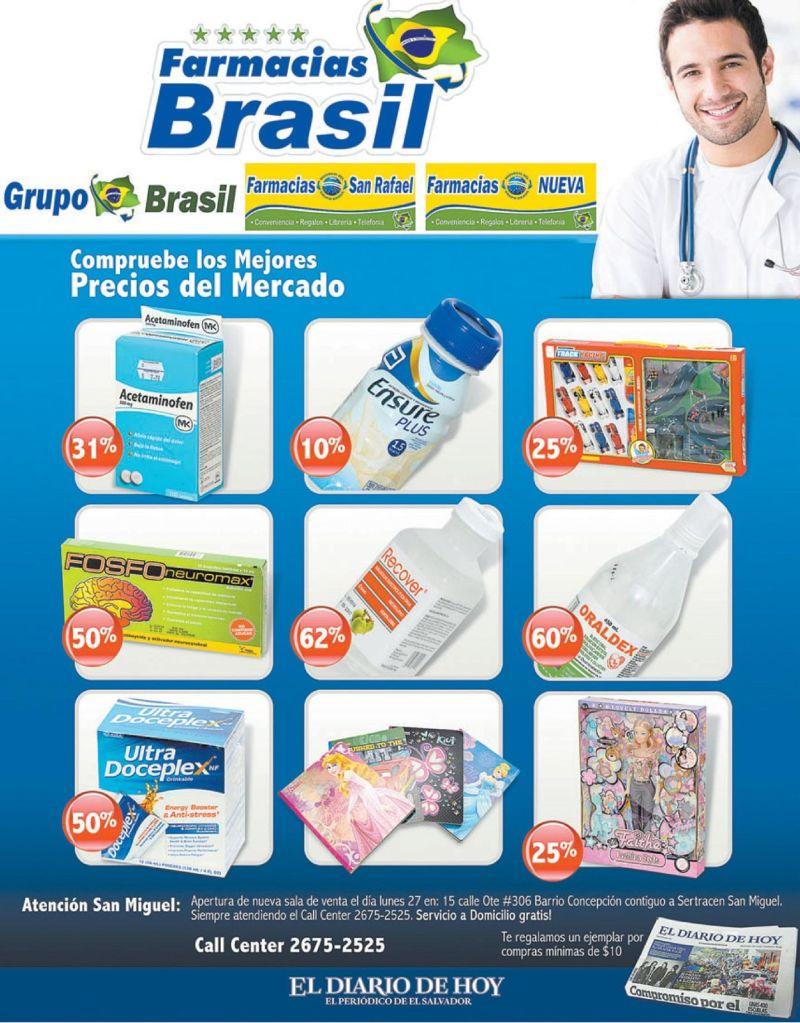 precios en tus medicamentos FARMACIAS BRASIL - 25oct14