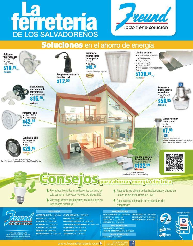 productos para ahorrar energia en casa FREUND ofertas