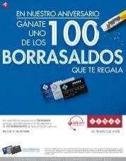 promociones SIMAN aniversario 2014 regala 100 borrasaldos